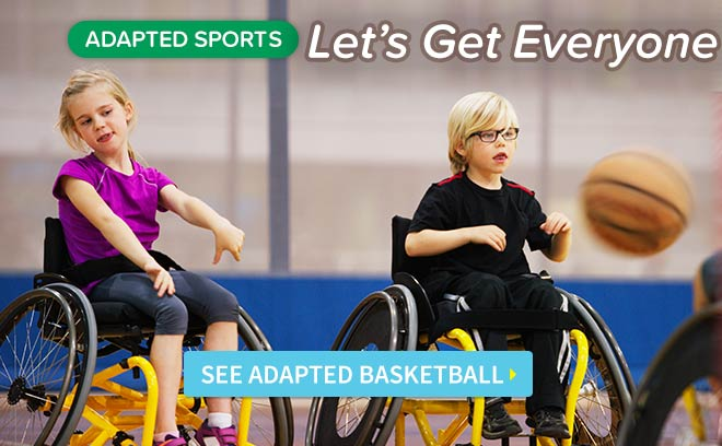 Adapted Basketball