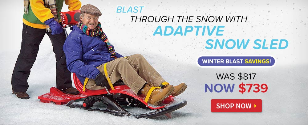 Adaptive Snow Sled