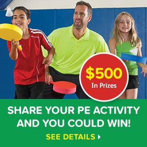 Share your PE Activity and You Could Win