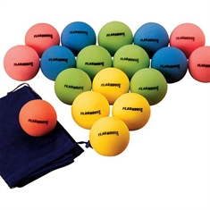 Low-Bounce Uncoated Foam Ball Super Sets - 7""