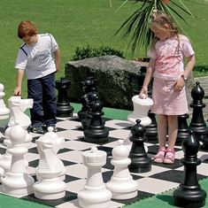 Giant Outdoor Chess Set