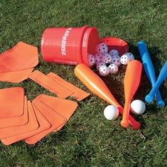 FlagHouse Indoor/Outdoor Plastic Baseball Set