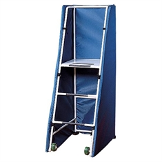 Freestanding Folding Officials Platform with Padding