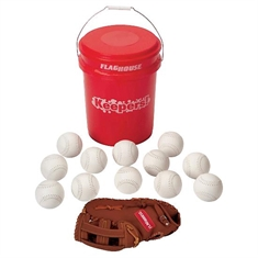 Keepers! Synthetic Softball Set