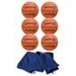 FlagHouse Active Series Rubber Basketball Set - #7 - Thumbnail 1
