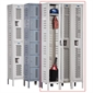 H - Duty Ventilated Lockers - 1 Tier - 12' 'x 12'' x 72'' - Assembled - Thumbnail 1
