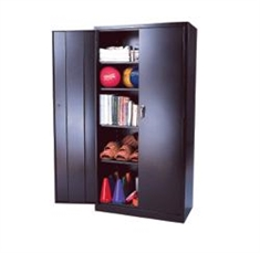 Steel Storage Cabinets - 4 Shelves - 36'' x 24'' x 72""