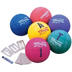 FlagHouse Playground Balls In Colors - 10""
