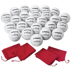 FlagHouse Rubber Volleyball Super Set