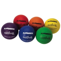 Flying Colors® Rubber Volleyball Set