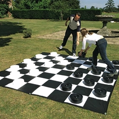 Giant Chess / Checkers - Mat Only