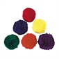 "Colored Fleece Ball Set - 4"" - Thumbnail 1"