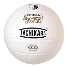 "Tachikara® ""SV - 5W GOLD""  Leather Volleyball"