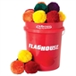 Keepers! Fleece Ball Set - 4'' - Set of 48 - Thumbnail 1