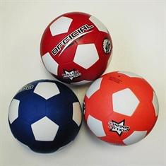 Soccer Balls in Color - Rubber - Size 5