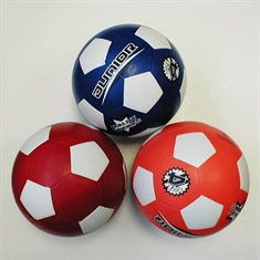 Soccer Balls in Color - Rubber - Size 4