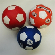 Soccer Balls in Color - Rubber - Size 3