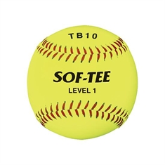Sof-Tee TB10 Safety Baseball - Set of 12