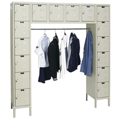 Unassembled Locker - 16 Person