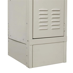 "Decorative Locker Accessory – 12""W Closed Side Base"