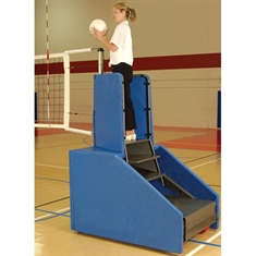 Bison® Freestanding Competition Portable Volleyball System