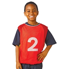 Numbered Adult Size Intramural Vests - Set of 15