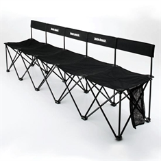Insta-Bench® With Back Rest - 5 - Seater