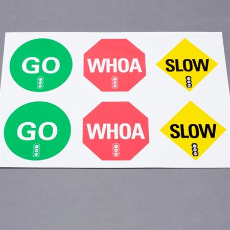 "CATCH® Go Slow Whoa® Vinyl ""Cling Ons"""