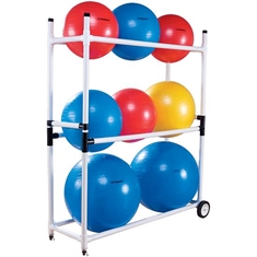 Exercise Ball Cart