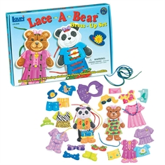 Lace-A-Bear Dress Up Set