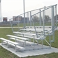Semi - Enclosed Bleachers - 8 Rows - 21' - Thumbnail 1