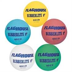 FlagHouse Rubberlite™ 8'' Playground Ball Set