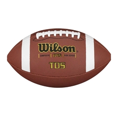 "Wilson® Premium Composite Leather Football -  ""TDS"" Full Size"