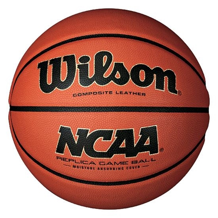 Wilson® NCAA® Replica Game Basketball – Size 7