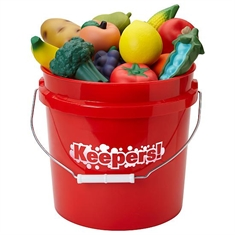 FlagHouse® Junior Keepers! Bucket Fruits and Veggies