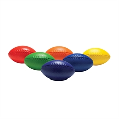 Squeezy Foam Football Rainbow Set