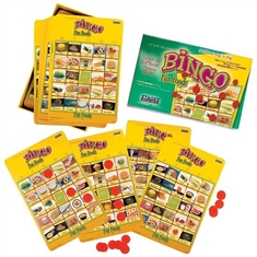 Fun Foods Bingo