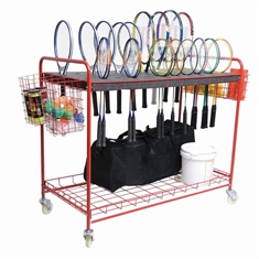 Wire Racquet Storage Cart