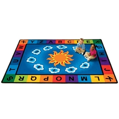 Sunny Day Learn & Play Rug - Medium Rectangle