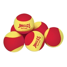 Jingle Bell  Balls - Set of 6