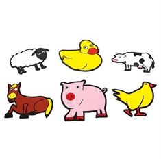 Farm Animals Spot Set