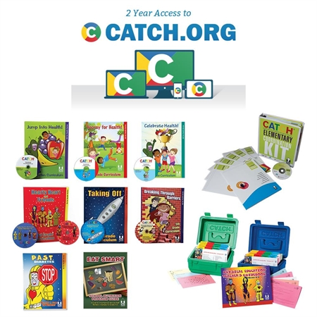 CATCH K-5 Classroom Curriculum/Coordination Kit/PE Box and CATCH.org Bundle