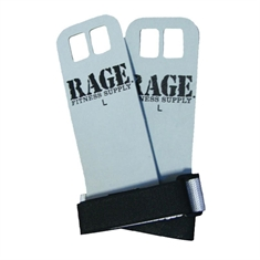 RAGE® Leather Hand Grips - Large