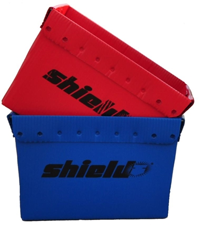 Shield® Small Storage Bins - Red or Blue