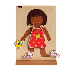 Magnetic Dressing Board - Girl