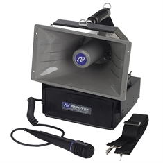 Amplivox® Half-Mile Hailer with 5' wired microphone