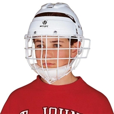Street Hockey Helmet & Face Cage - Junior