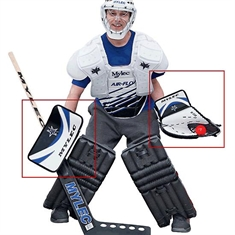 Goalie Glove & Blocker