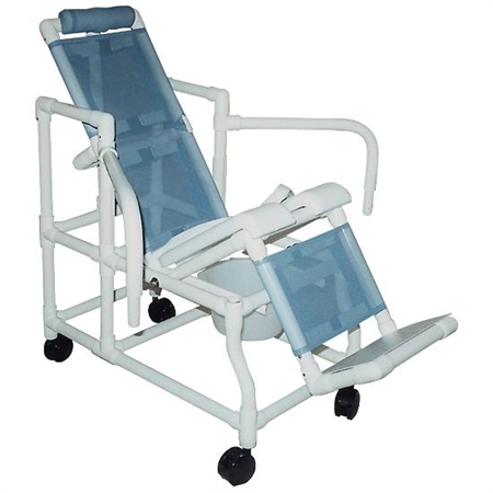 Tilt - in - Space Mobile Shower Chair - Large