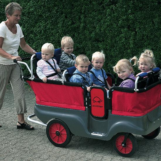 Turtle Kiddy Bus 6 Seater Flaghouse
